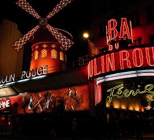 Le moulin rouge - Paris
