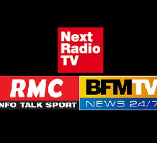 RMC/ BFM TV / NEXTPROD (national French radio and TV) - Paris - FRANCE